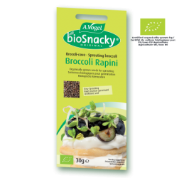 A. Vogel BioSnacky Broccoli Rapini Sprouting Seeds