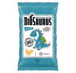 BioSaurus Corn Snack with Sea Salt flavor 50g