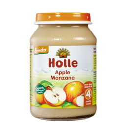 HOLLE  Apple cream 190g (4th month+)