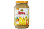 HOLLE APPLE & PEAR WITH QUINCE CREAM 220G (8 MONTH+)
