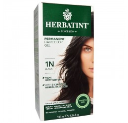 Herbatint Haircolor 1N Black 135ml