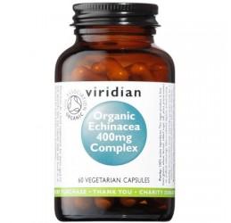 Viridian Organic Echinacea 400mg Complex 60 VCaps